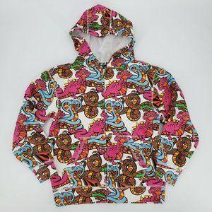 Volcom Creatures Dinosaur Hoodie Sweatshirt Jacket